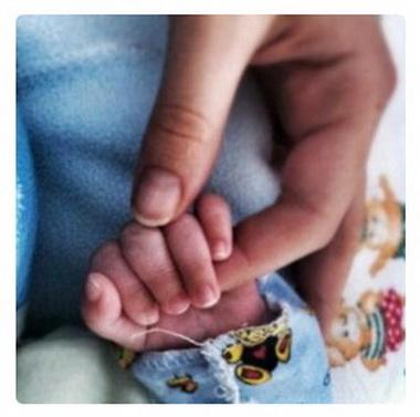 Агата выложила фото сына в интернет